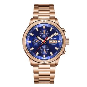 OBLVLO CM Series Mens Designer Watches Rose Gold Automatic Watch CM-PLP