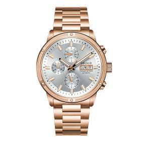 OBLVLO CM Series Mens Designer Watches Rose Gold Automatic Watch CM-P